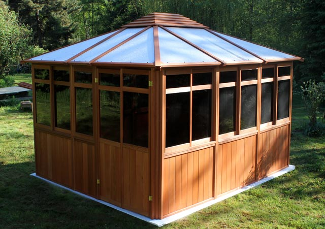 Gazebo Hot Tub Enclosure Solarus Westview Manufacturing